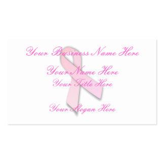 Conciencia del cáncer de pecho (1) tarjetas de visita