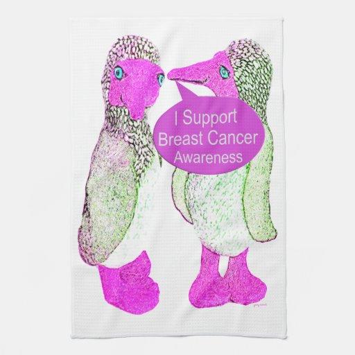 Conciencia del cáncer de pecho de la ayuda toalla
