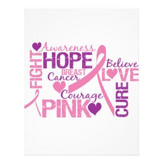 Conciencia del cáncer de pecho tarjetas publicitarias