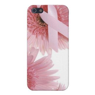 Conciencia del cáncer de pecho iPhone 5 fundas
