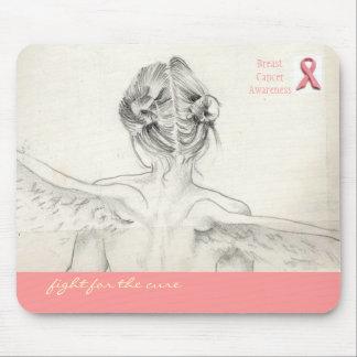"""Conciencia del cáncer de pecho """"lucha para ratón d tapete de ratones"""