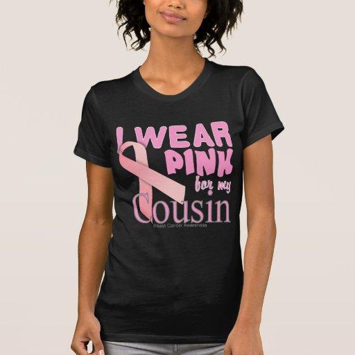 Conciencia del cáncer de pecho para el primo camisetas