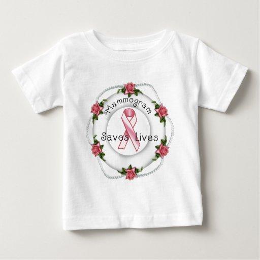 ¡CONCIENCIA del CÁNCER de PECHO - piense el rosa!! Camiseta