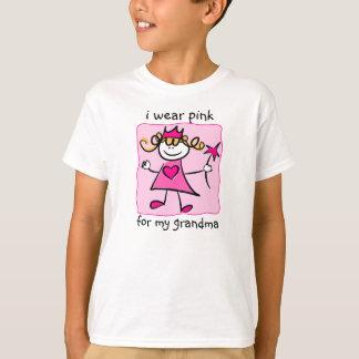 Conciencia del cáncer de pecho: Princesa rosada Playera