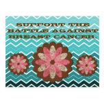 Conciencia del cáncer de pecho tarjetas postales
