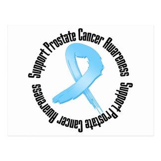 Conciencia del cáncer de próstata de la ayuda postal