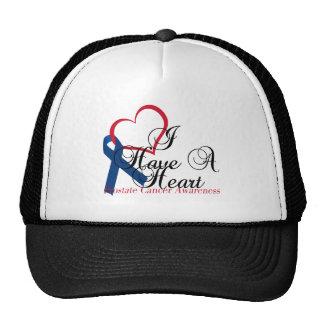 Conciencia del cáncer de próstata de la cinta de a gorra