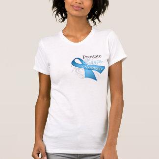 Conciencia del cáncer de próstata de la cinta de polera