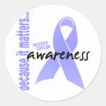 Conciencia del cáncer de próstata pegatina