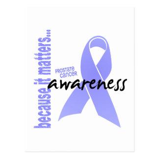 Conciencia del cáncer de próstata postal