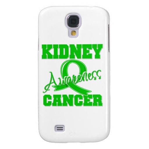 Conciencia del cáncer del riñón funda para galaxy s4
