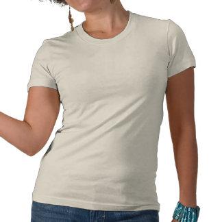 Conciencia del cáncer endometrial de la cinta de v camiseta