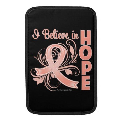 Conciencia del cáncer endometrial que creo en espe fundas MacBook