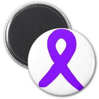 Conciencia del cáncer imán redondo 5 cm