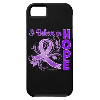 Conciencia del cáncer pancreático que creo en funda para iPhone 5 tough