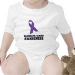 Conciencia del cáncer pancreático trajes de bebé