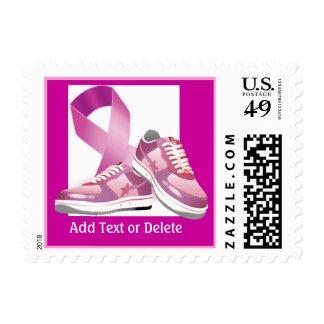 Conciencia del cáncer - paseo para la curación sello