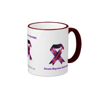 Conciencia del cáncer taza de café