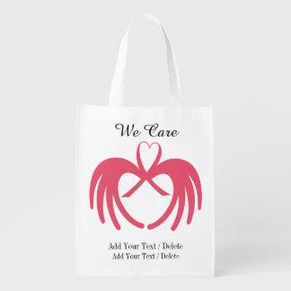 Conciencia del cáncer - ultramarinos, regalo, bolsas para la compra