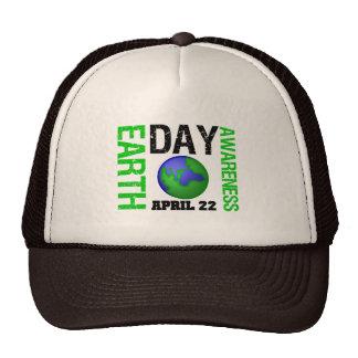 Conciencia del Día de la Tierra Gorra