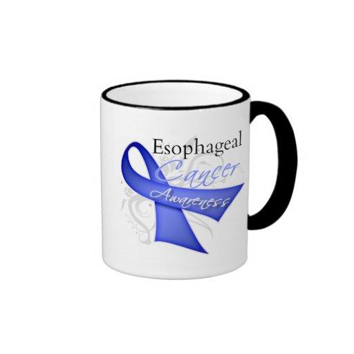 Conciencia del esófago del cáncer de la cinta de v taza de café