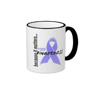 Conciencia del esófago del cáncer taza de dos colores