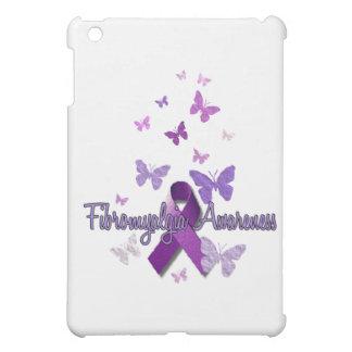 Conciencia del Fibromyalgia cinta y mariposas