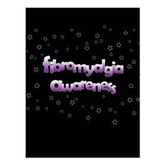 Conciencia del Fibromyalgia: Estrellas Postal