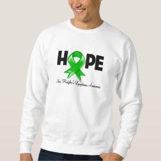 Conciencia del linfoma Non-Hodgkin de la esperanza Sudaderas Encapuchadas