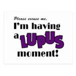 Conciencia del lupus tarjeta postal