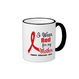Conciencia del movimiento - cinta roja (madre) tazas