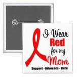 Conciencia del movimiento - cinta roja (mamá) pins