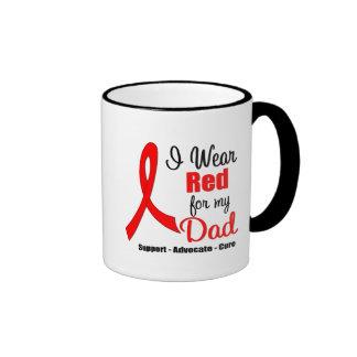 Conciencia del movimiento - cinta roja (papá) tazas de café