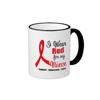 Conciencia del movimiento - cinta roja (sobrina) taza de café