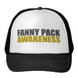 conciencia del paquete de trasero gorra
