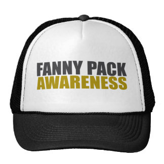 conciencia del paquete de trasero gorras de camionero