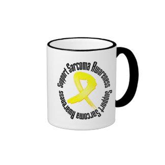 Conciencia del sarcoma de la ayuda taza a dos colores
