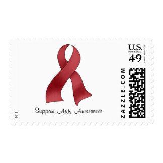 Conciencia del SIDA de la ayuda Sello