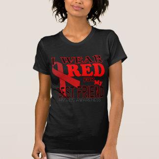CONCIENCIA del SIDA del VIH para la conciencia T d Camiseta