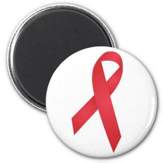 Conciencia del SIDA Imán Redondo 5 Cm