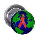 Conciencia del SIDA para todos Pins