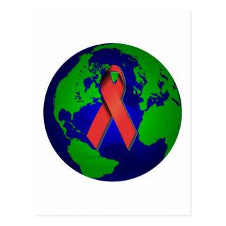 Conciencia del SIDA para todos Postal