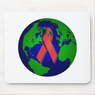 Conciencia del SIDA para todos Alfombrillas De Ratón