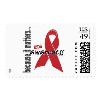 Conciencia del SIDA Sellos