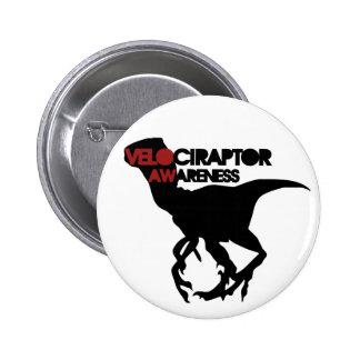 conciencia del velociraptor pin