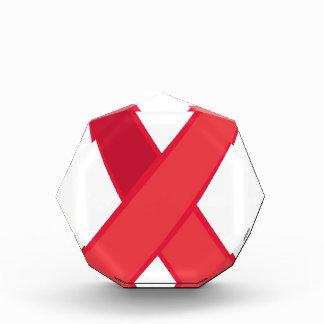 Conciencia del VIH - cinta roja