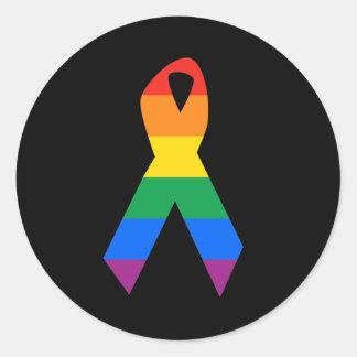 Conciencia gay del suicidio pegatinas