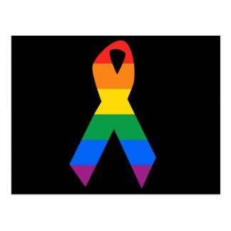 Conciencia gay del suicidio postales
