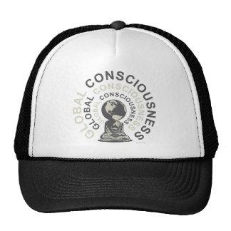 conciencia global gorra