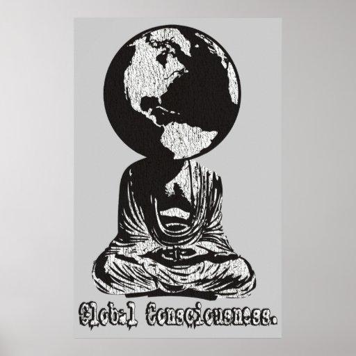 Conciencia global póster